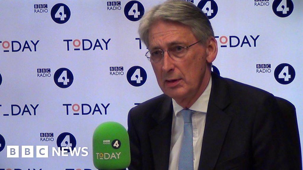 "Philip Hammond: ""I will defend myself, my party"