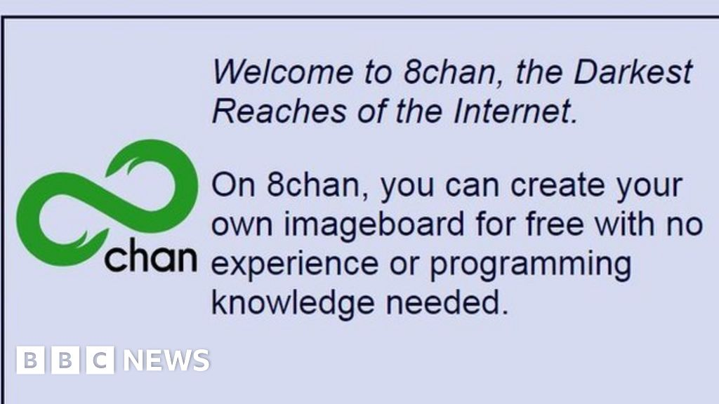 What is 8chan? - BBC News