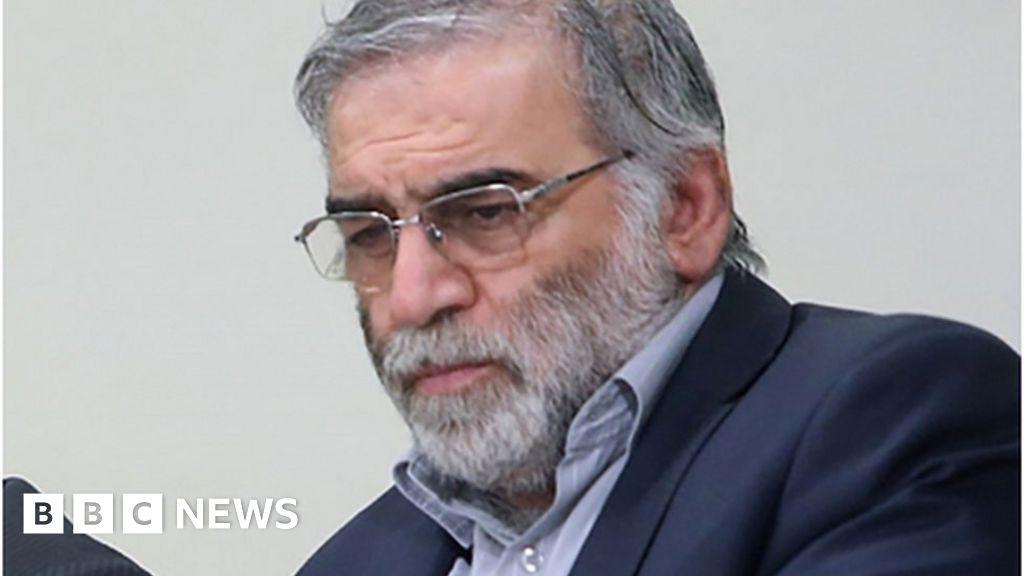 Mohsen Fakhrizadeh: Iran blames Israel for killing top scientist