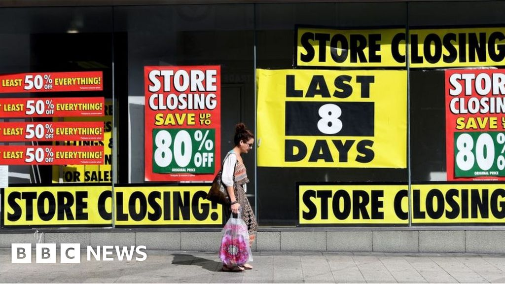 Retailers shut 2,700 shops in first half of the year