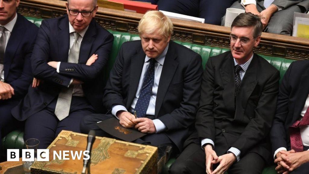 Newspaper headlines:  Boris loses control