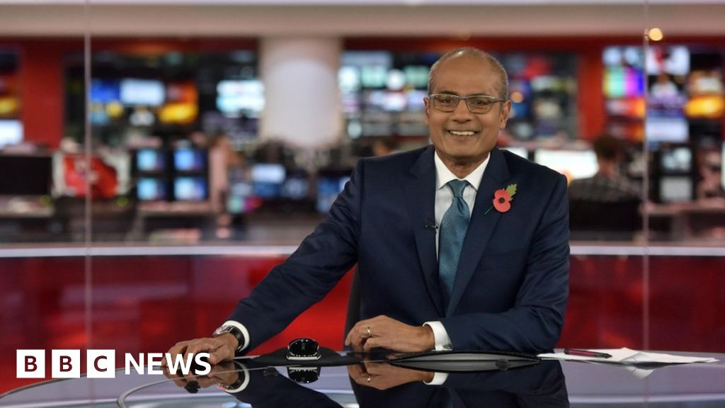 BBC News Photo: George Alagiah: Better Screening 'might Have Caught Cancer