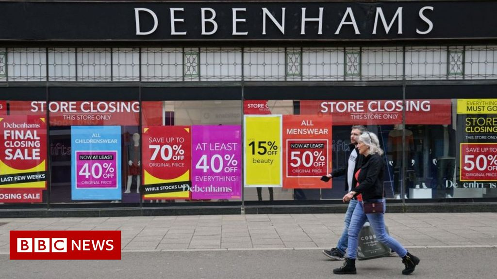 Last Debenhams stores close their doors
