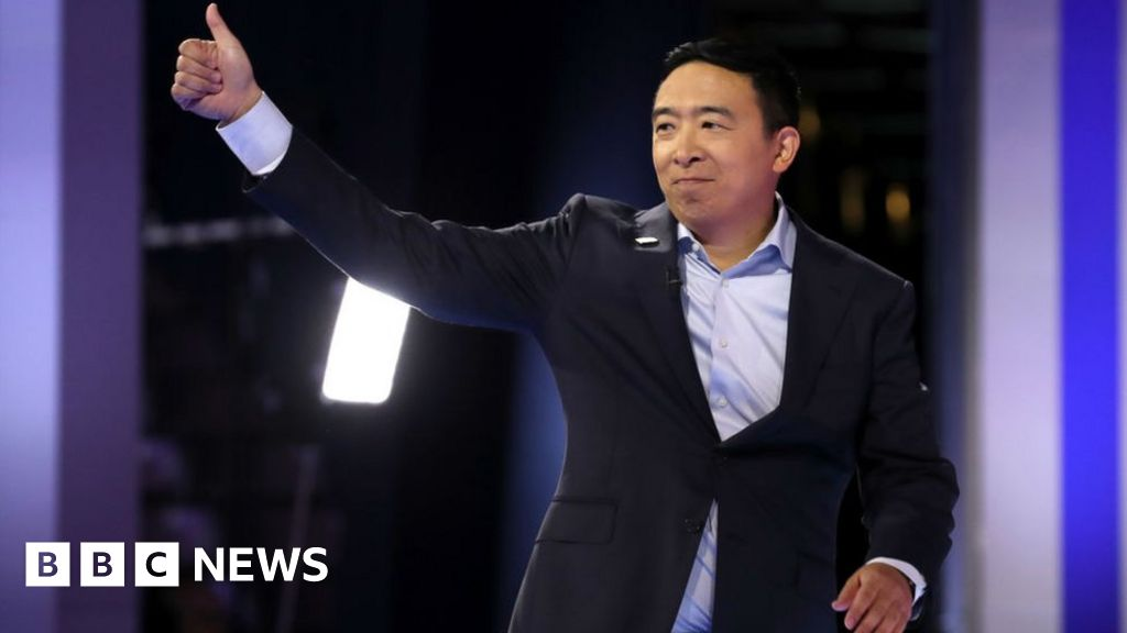 Andrew Yang: The 'Asian math guy' trying to be next US president