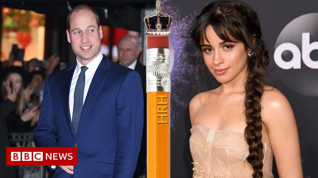 Camila Cabello stole a pencil from Prince William and  it could be worth £1000s