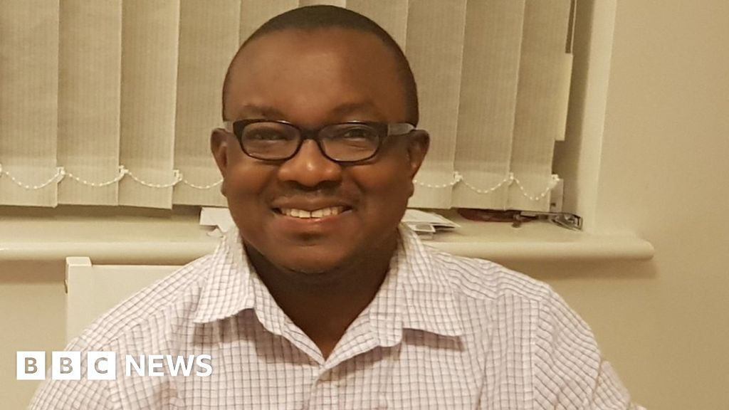 Doctor told he cannot give blood because of his Kenyan wife