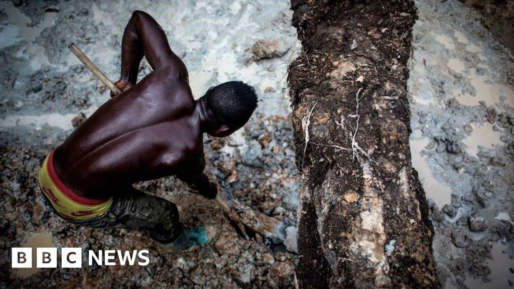 Tech firms sued over DR Congo cobalt mining deaths