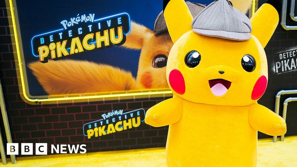 Detective Pikachu Pokemon Created A World I Wanted To Live In Bbc News