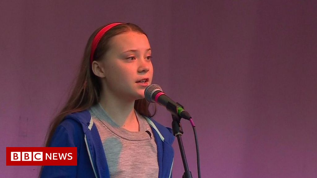 Greta Thunberg: 'Climate fight will never stop' thumbnail