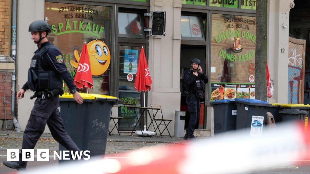 Two killed in gun attack in German city