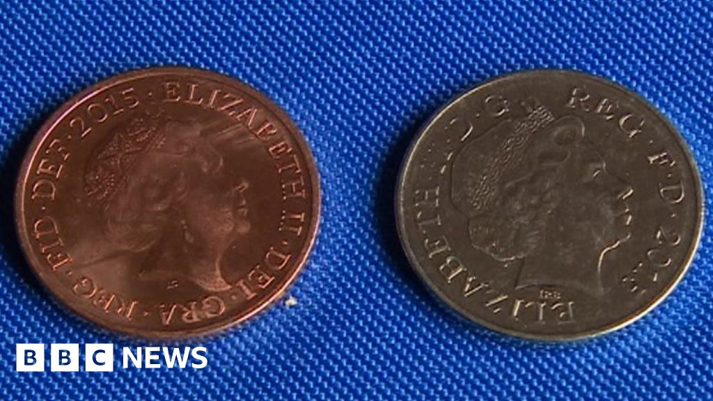 Silver' 2p sells for £1,350 - 67,500 times face value - BBC News