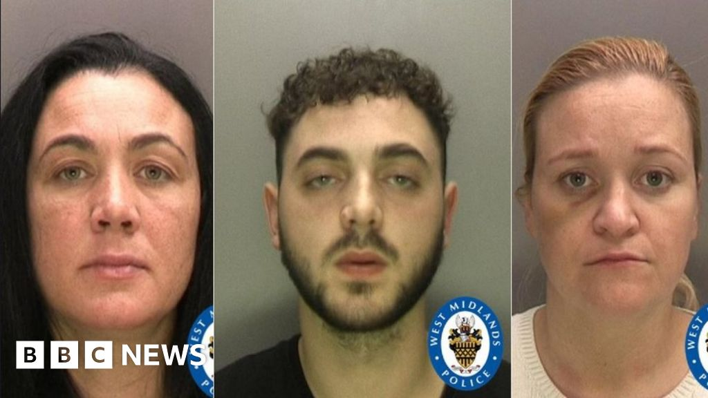 Three sentenced for assisting Solihull killer's escape bid