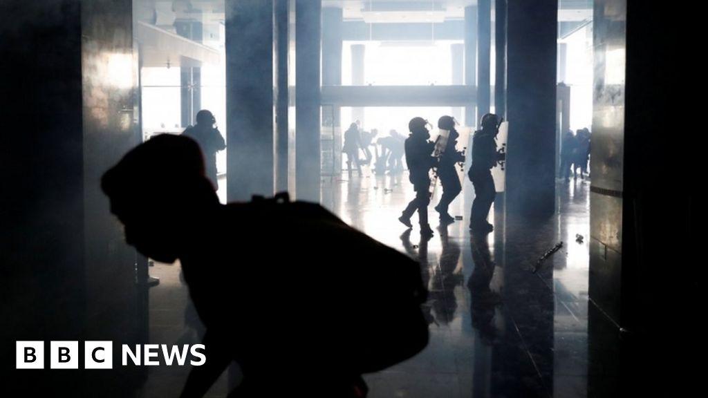 Ecuador protesters storm parliament as unrest worsens