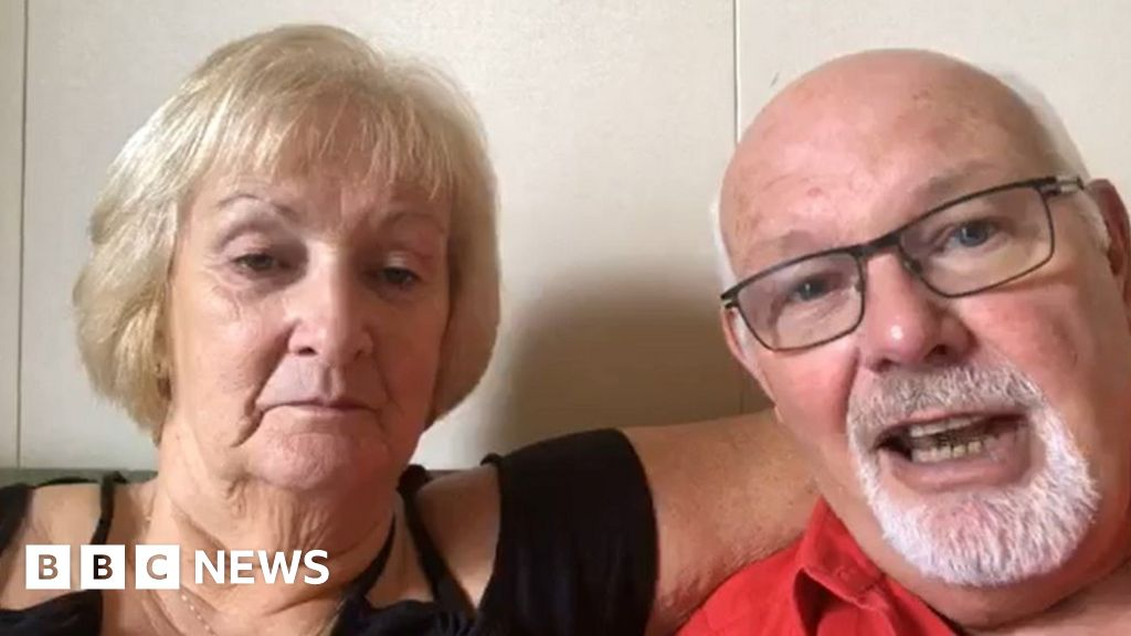 British couple on cruise 'test positive for virus'