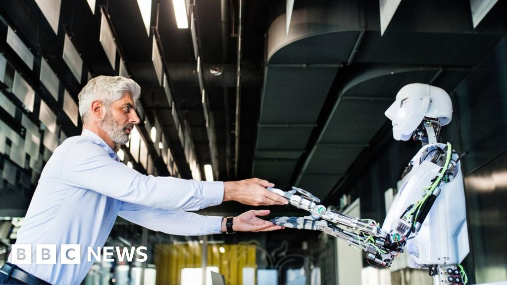 AI will create as many jobs as it displaces - report - BBC News