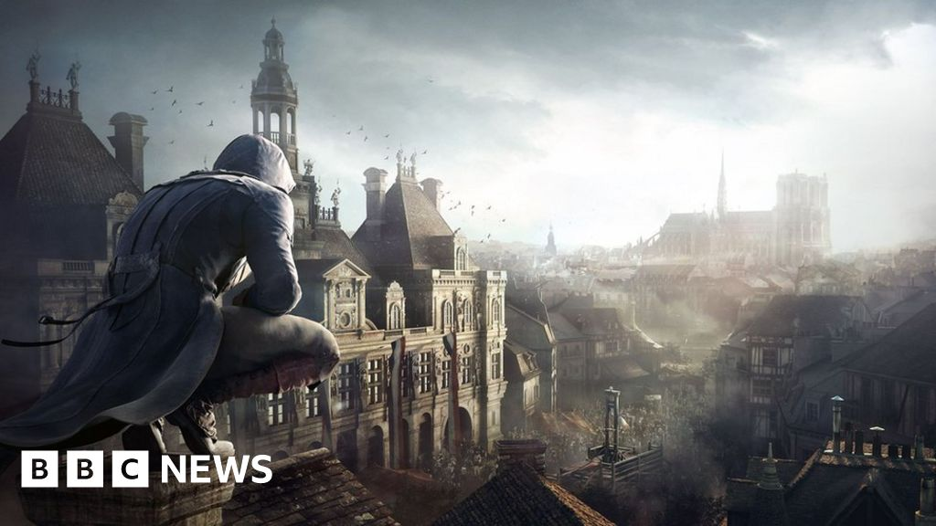 Notre Dame Assassin S Creed Unity Giveaway Praised Bbc News