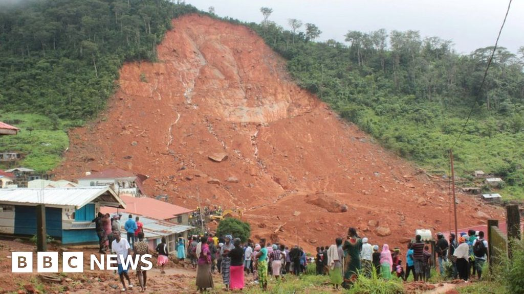 Sierra Leone Mudslides Urgent Plea For Help As Death Toll Rises Bbc News