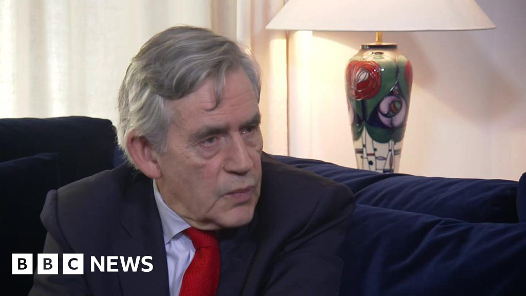 Are We In Danger Of Sleepwalking Into >> Gordon Brown Another Financial Crisis Is Coming