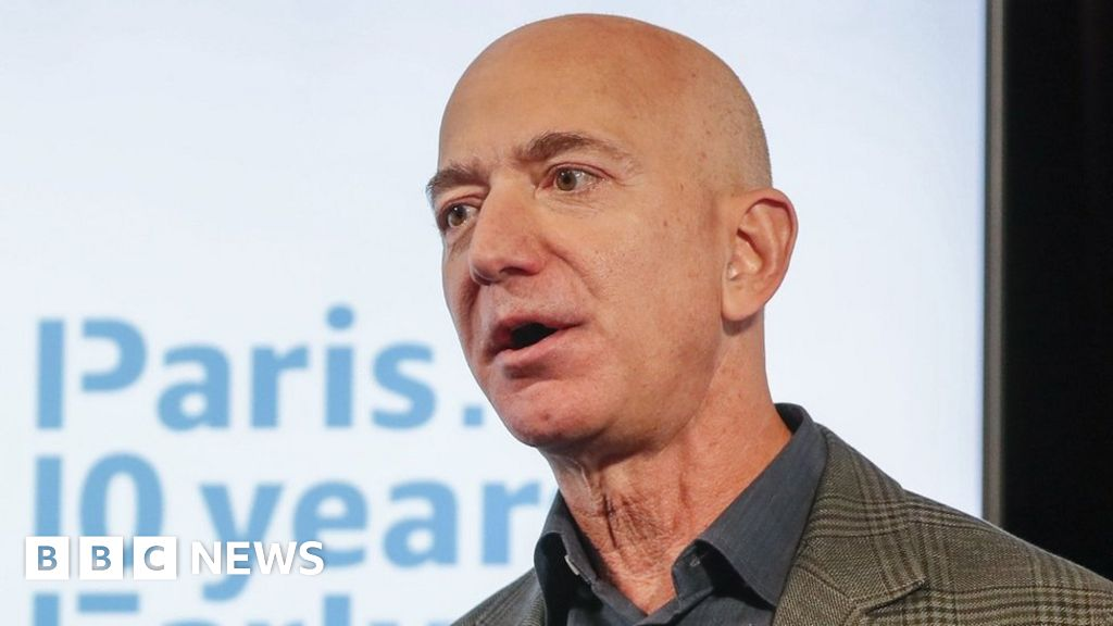 Amazon's Jeff Bezos promises climate-change action