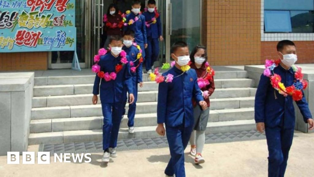 North Korea says orphan children volunteering on mines and farms