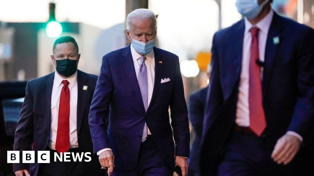US election 2020: Biden says White House co-operation 'sincere'