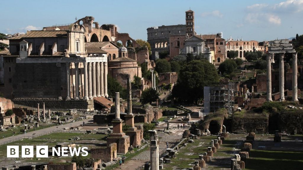 'Please forgive me!': US tourist returns block of stolen Roman marble