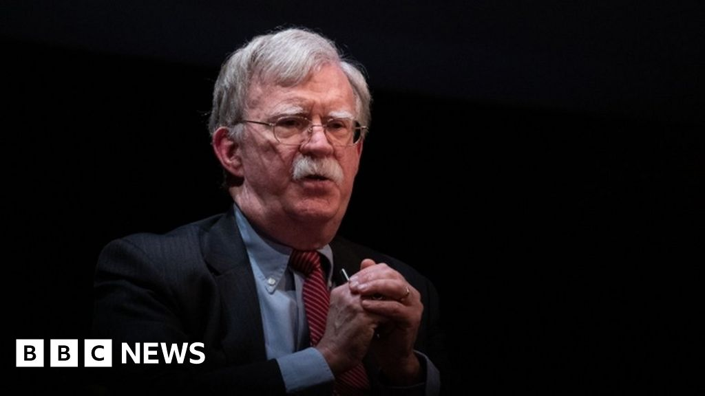 John Bolton: Trump s administration is suing to block-book