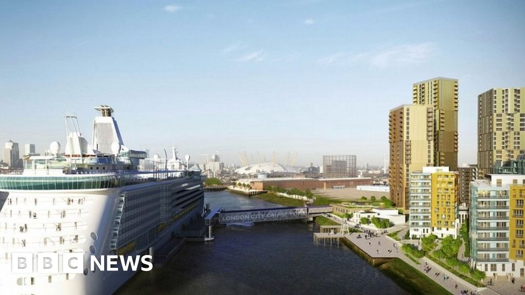 Greenwich cruise ship terminal plans withdrawn - BBC News