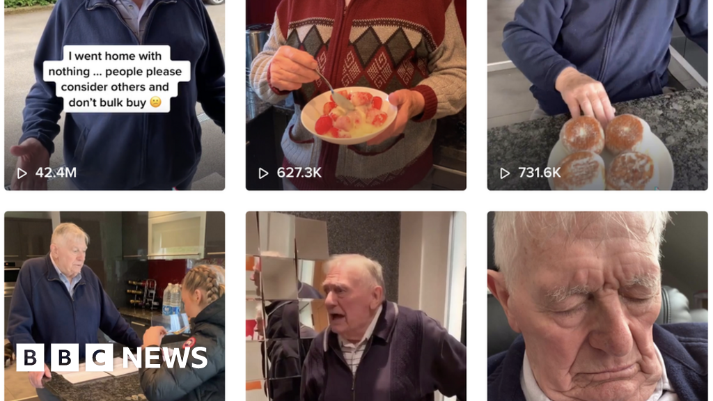 Coronavirus: The grandfather, who was a TikTok-star, without realizing it