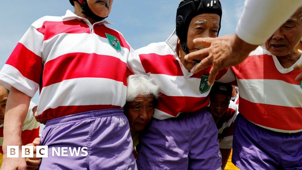The Tokyo rugby club keeping elderly players healthy
