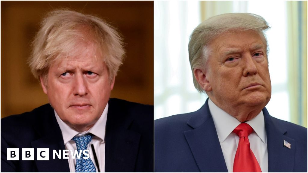 Capitol riots: Boris Johnson condemns Donald Trump for sparking events