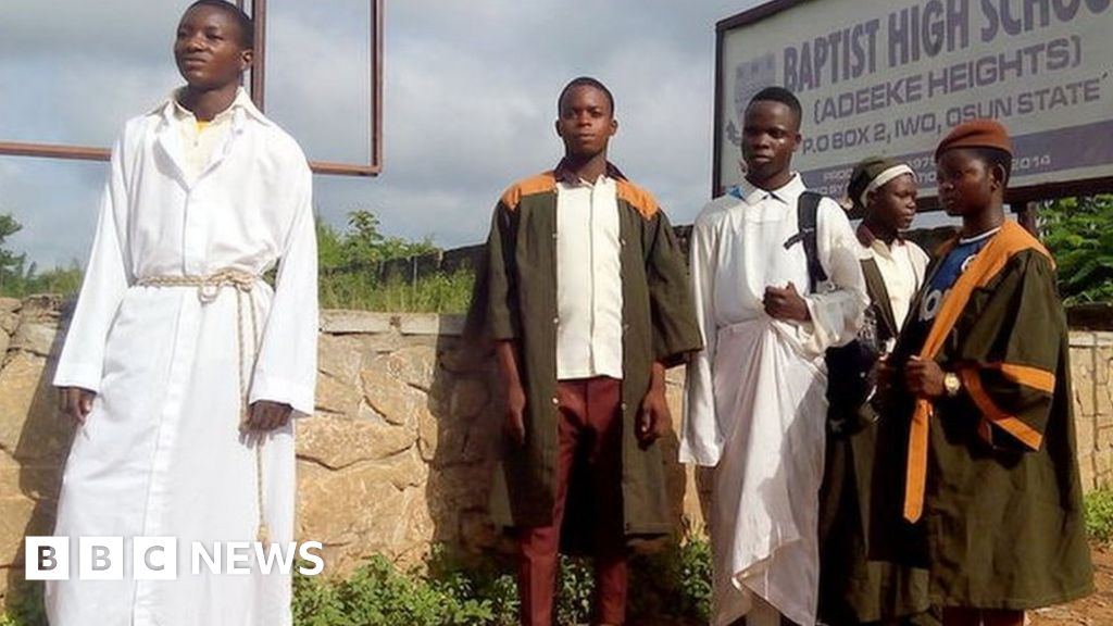 Letter From Africa Nigeria S War Of The Religious Robes Bbc News