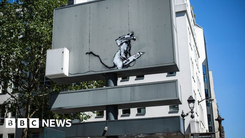 Banksy artwork stolen from central Paris