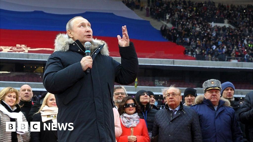 Vladimir Putin: 20 years in 20 photos