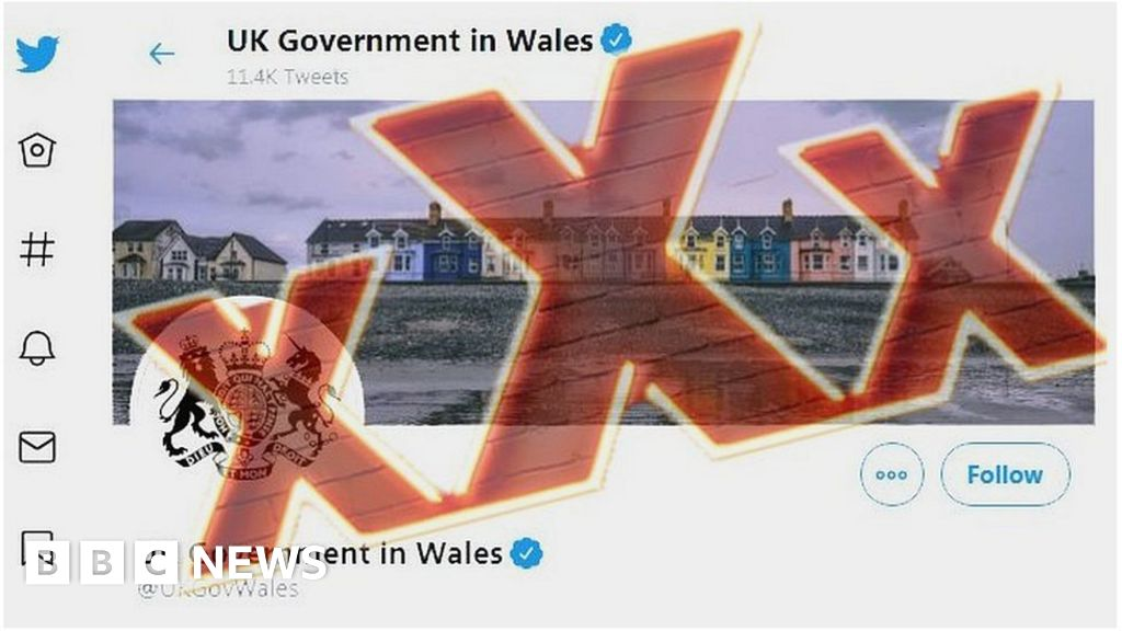 UK Government in Wales account tweets out porn