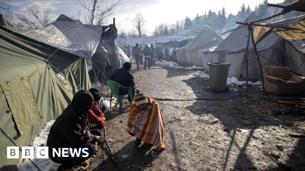 Bosnia s  inhumane  camp conditions put thousands of migrants at risk
