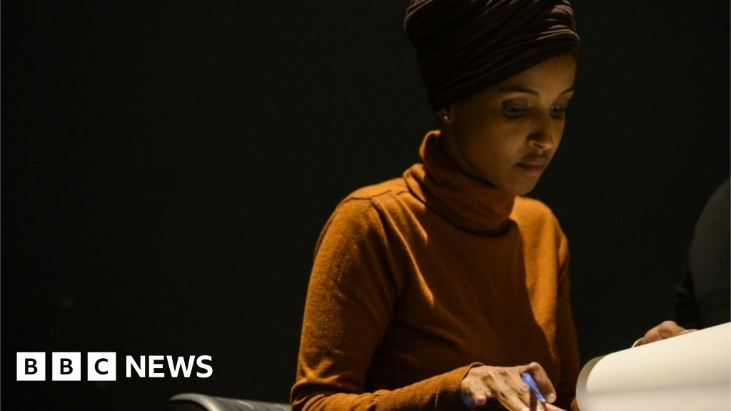 Threat to shoot US Muslim congresswoman at fair