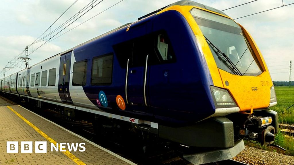 One of Northern's new trains
