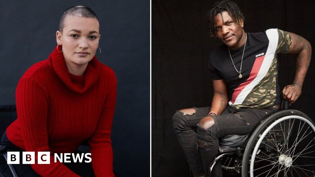 Disabled young people, their identity crisis led her to the modeling career