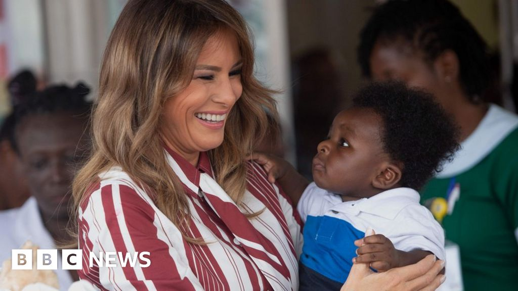 Melania Trump: US firs... Ivanka Trump Africa Trip
