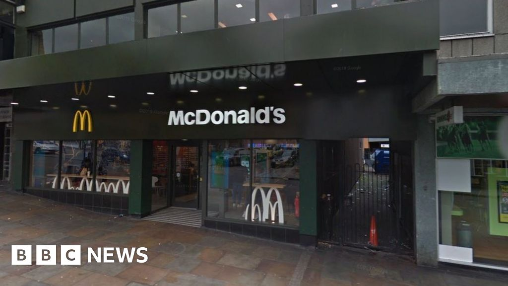Teenager shot in 'drive-by' attack near McDonalds