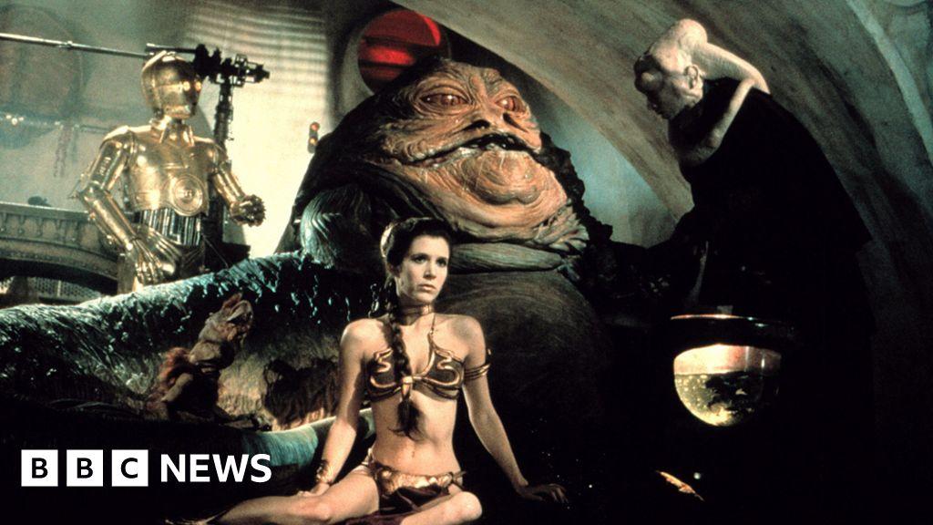 Princess Leia Bikini Sells For 96 000 Bbc News