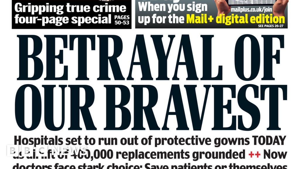 "Headlines:  a betrayal of our brave"", such as PSA-order is delayed"