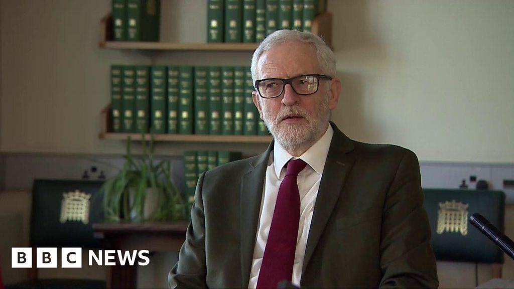 Coronavirus: Jeremy Corbyn says government has been 'too slow'