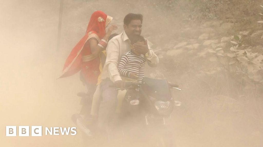 Why is India's pollution much worse than China's?