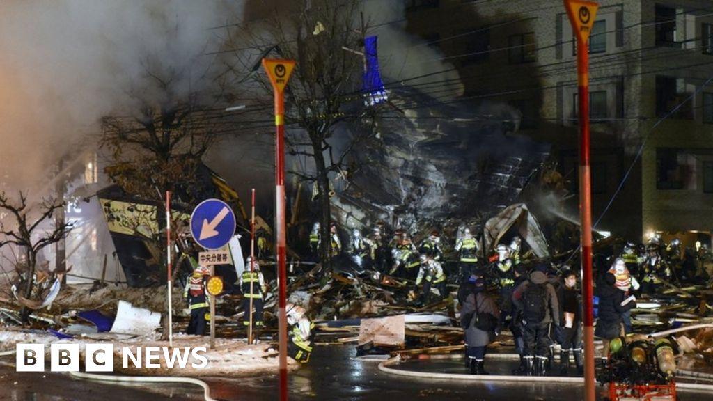 Japan explosion: Dozens injured in Sapporo restaurant blast - BBC News image