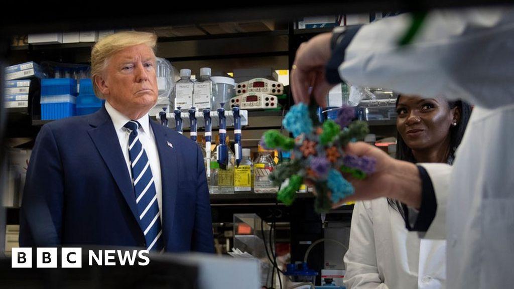 Coronavirus: Six of President Trump's claims fact-checked thumbnail