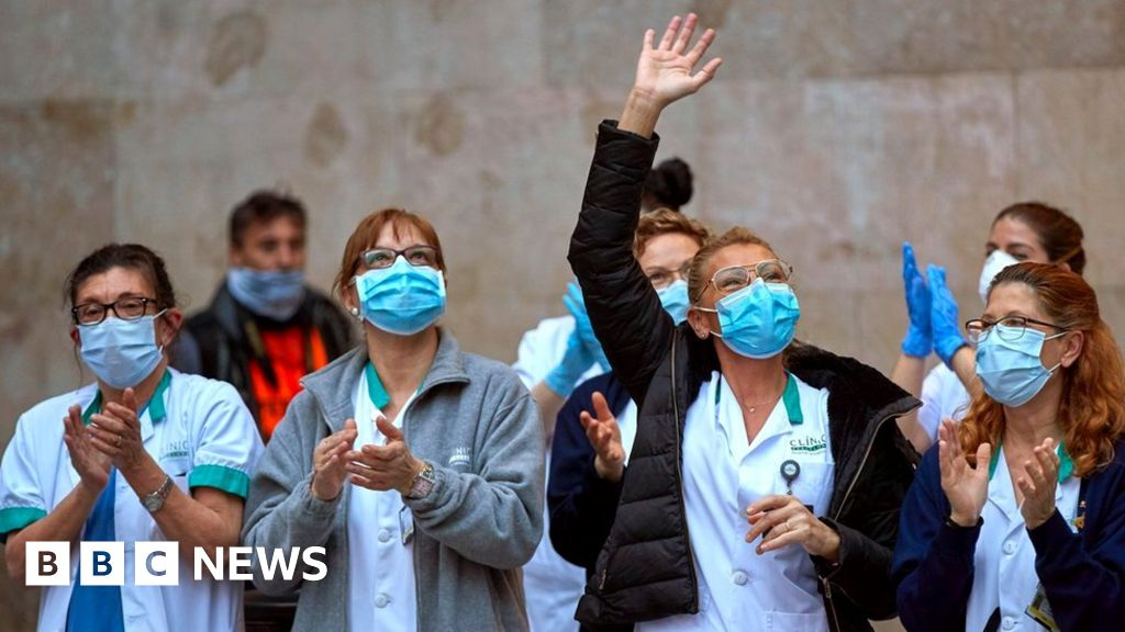 Coronavirus: Spain PM sees  fire under control,""