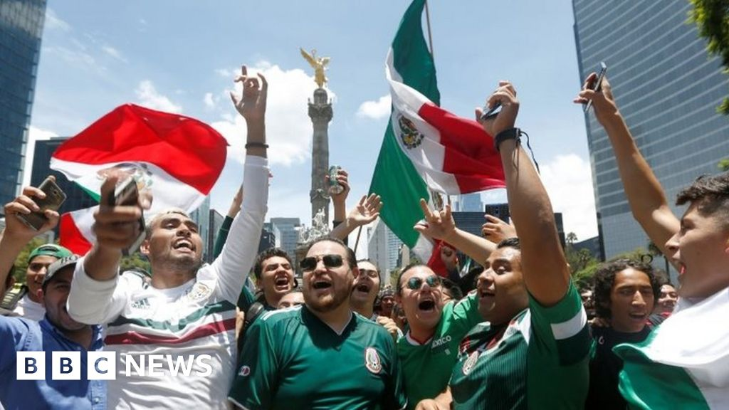 Did Mexican World Cup fans' celebrations shake the earth? - BBC News