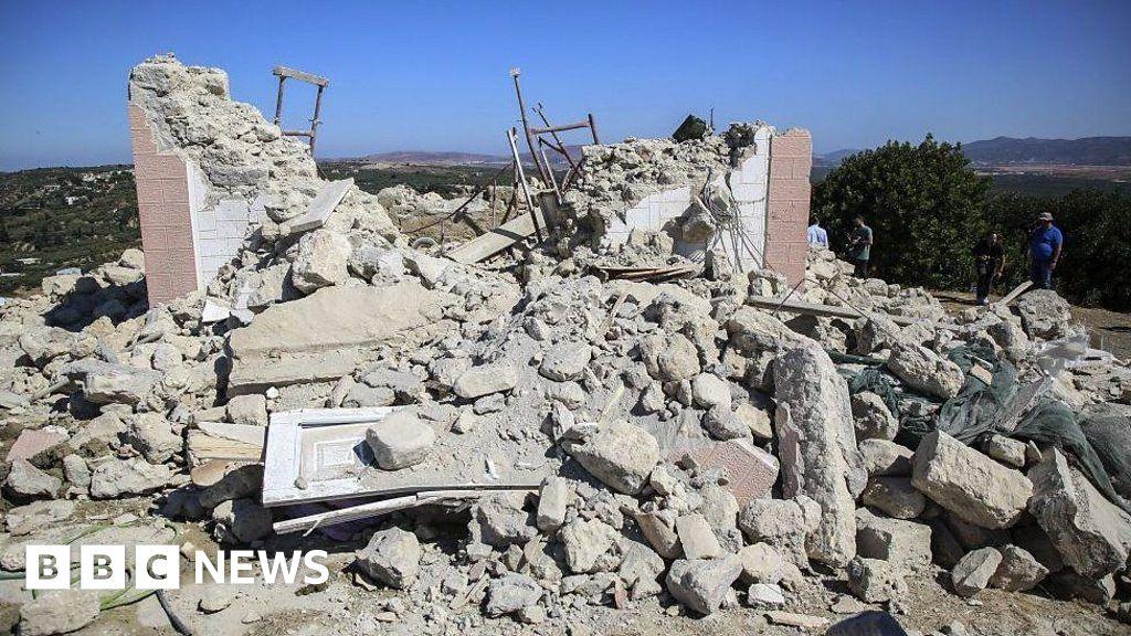 Earthquake hits Greek island